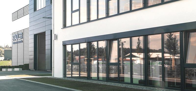Stadler - Designbau Metallisch